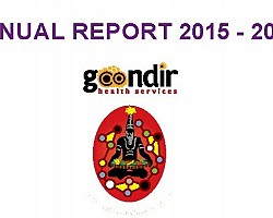 Goondir Health Services 2015 - 2016 Annual Report